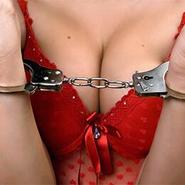 BDSM-Handcuff